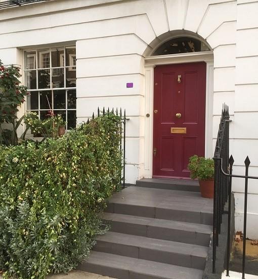 Albert Street Front Door_