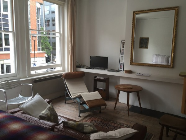 Great Titchfield Street Studio Living Area