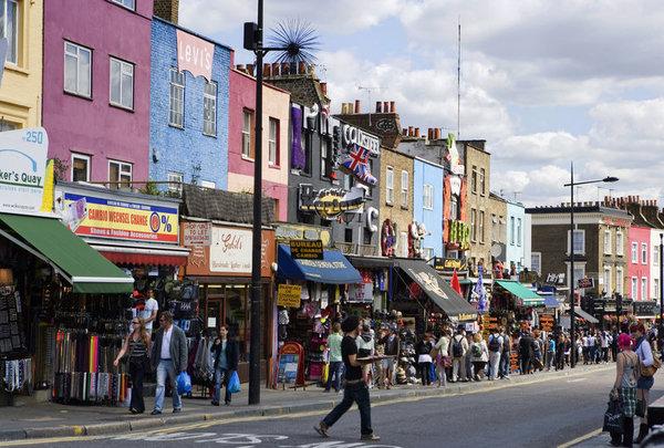 Camden Market The London B B Agency